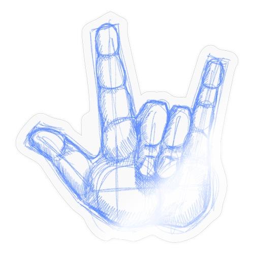 Sketchhand ILY - Sticker