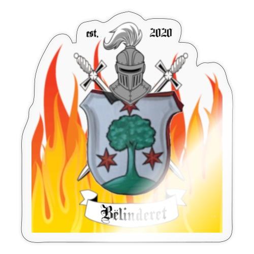 Belinderet Juli 2021 - Sticker