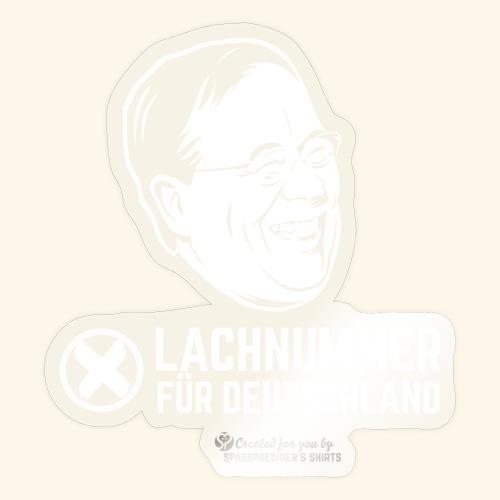 Lachnummer für Deutschland - Sticker