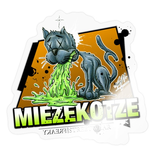 Miezekotze - Sticker