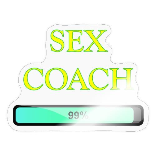 sex coach - Autocollant