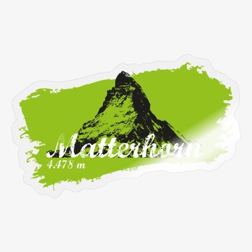 Matterhorn - Matterhorn in green - Sticker