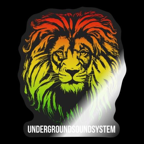 LION HEAD UNDERGROUNDSOUNDSYSTEM AUSTRIA - Sticker