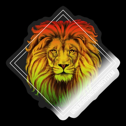 LION HEAD - UNDERGROUNDSOUNDSYSTEM - Sticker