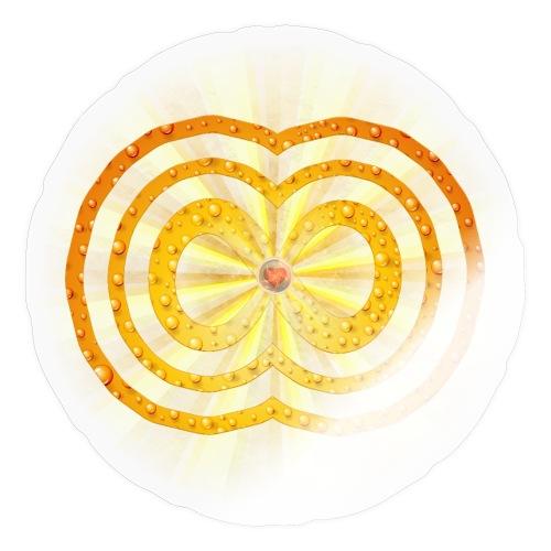 leuchtende / strahlende unendliche Liebe - Spirit - Sticker