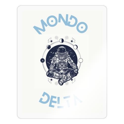 Mondo Delta T-shirt - Adesivo