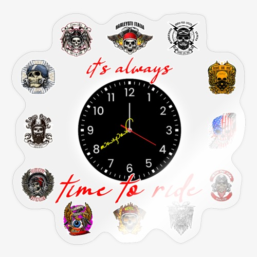It's always time to ride - Collection - Adesivo