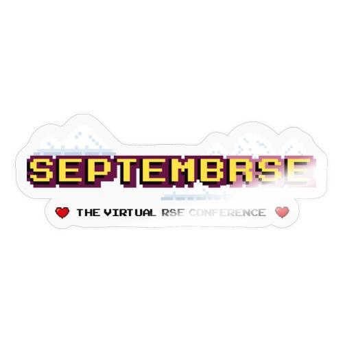 SeptembRSE - Main Conference Logo - Sticker