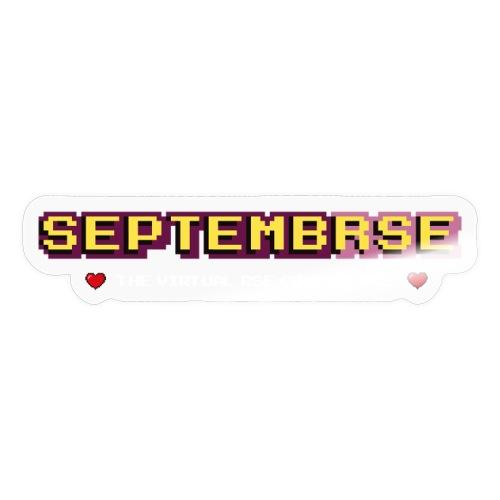 SeptembRSE - Simple Conference Logo - Sticker