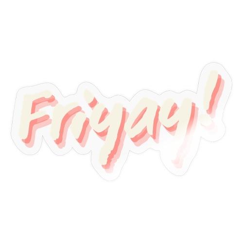 Friyay - Klistremerke