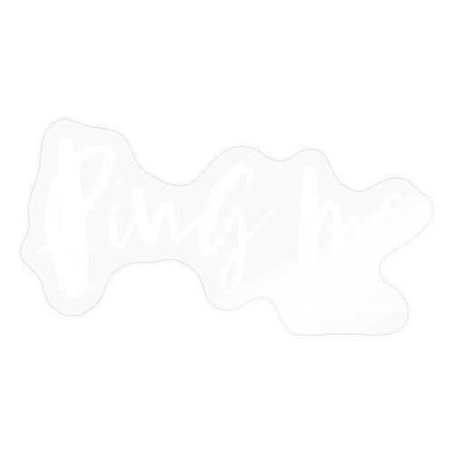 Ping me - Sticker