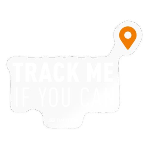 Track me - Sticker