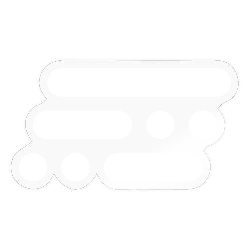 Bildmarke white - Sticker