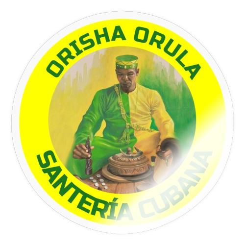 Orula Orunmila es un Orisha de la Santería Cubana - Pegatina