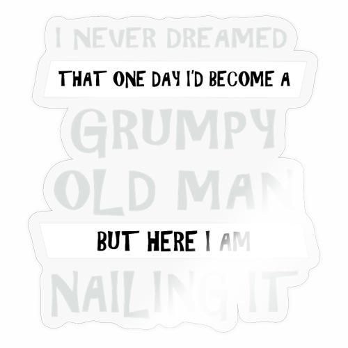 Grumpy 2 - Sticker