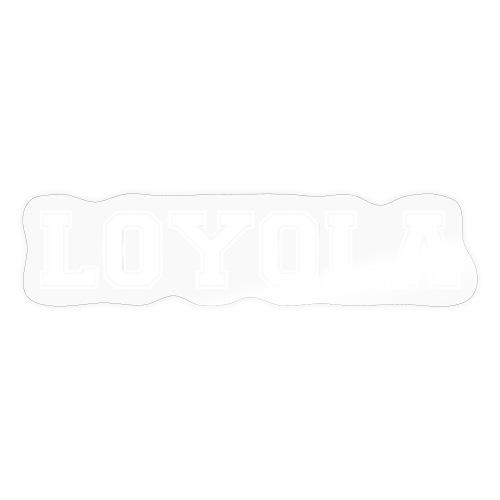 Loyola blanco - Pegatina