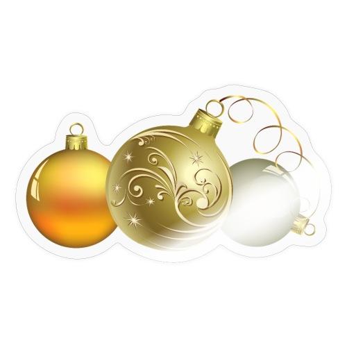 Christmas Ball Decor - Pegatina