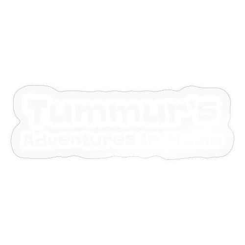 TAim Full transparent white stroke - Sticker