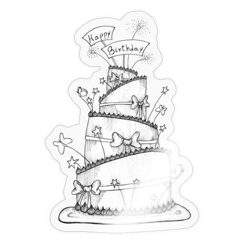 Torta - Adesivo