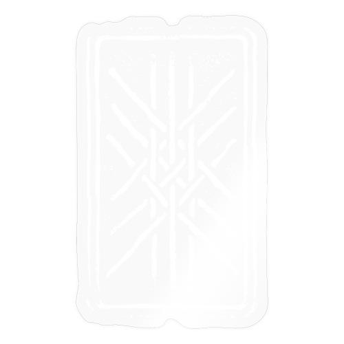 Netz von Wyrd Gitter Skulds Netz Binderune Symbol - Sticker