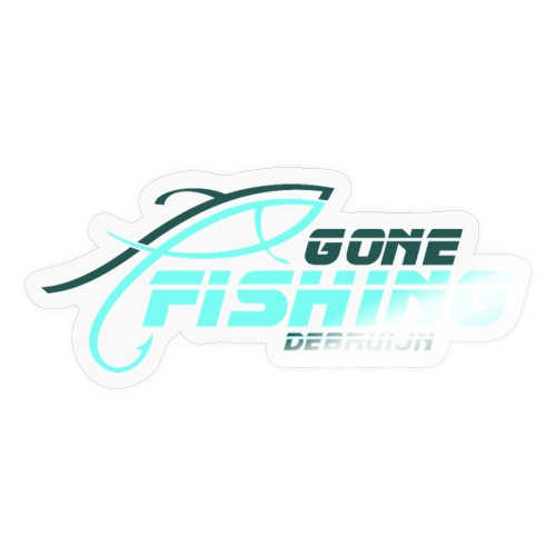 GONE-FISHING (2022) DEEPSEA/LAKE BOAT T-COLLECTION - Sticker