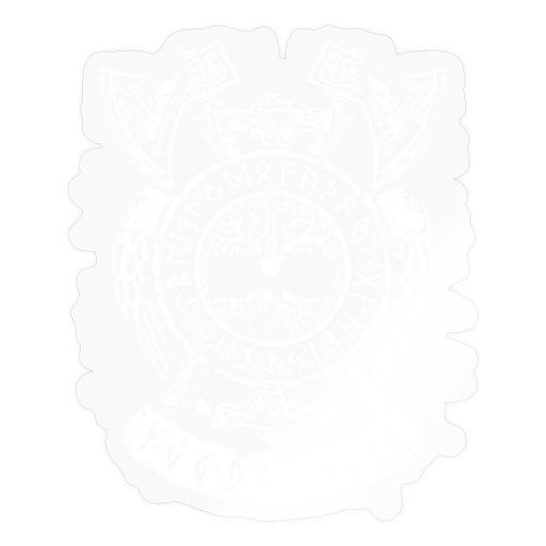 Yggdrasill Weltenbaum Weltesche Wikinger Runen - Sticker