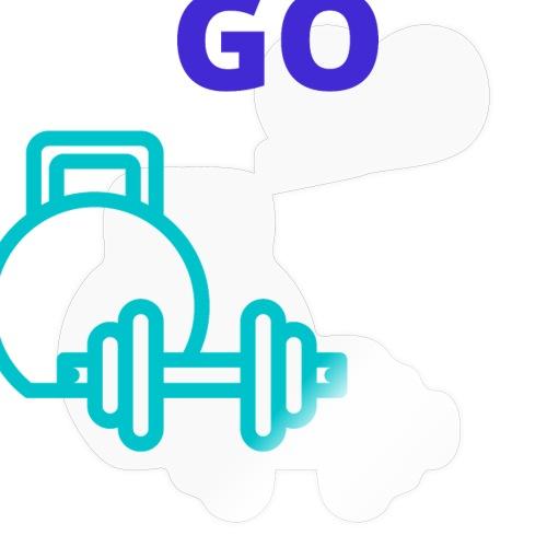 fitness - Sticker