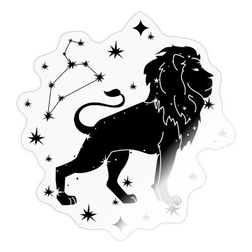 Sternzeichen Löwe Sternbild Geburtstag Juli August - Sticker