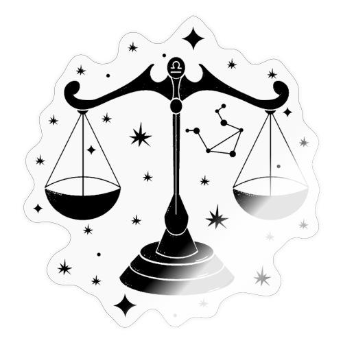 Sternzeichen Harmonische Waage September Oktober - Sticker