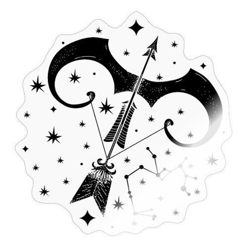 Sternbild Optimistischer Schütze November Dezember - Sticker