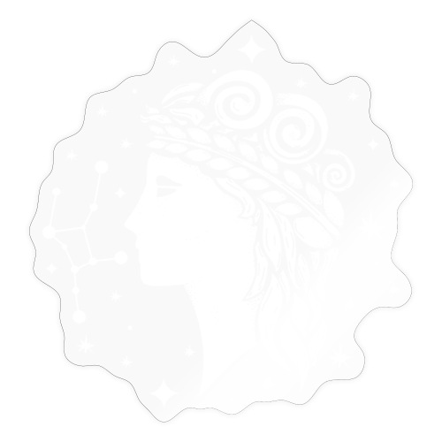 Sternzeichen Behutsame Jungfrau August September - Sticker