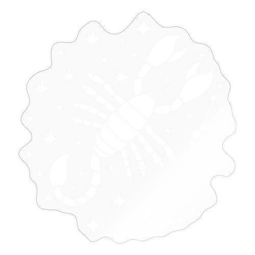 Sternzeichen Furchtloser Skorpion Oktober November - Sticker