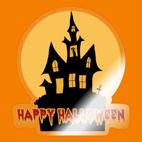 Happy Halloween - Klistermärke