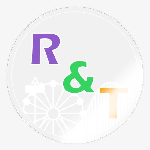 *Limited Edition* Robin & Thomas Merch Wit - Sticker