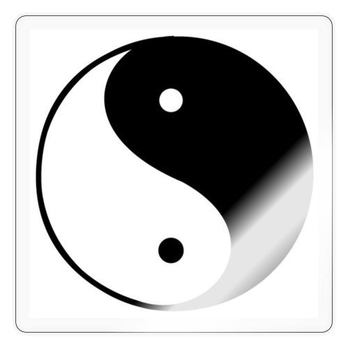 yin yang - Klistremerke
