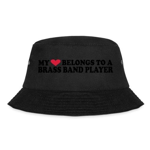 MY HEART BELONGS TO A BRASS BAND PLAYER - Bøttehatt