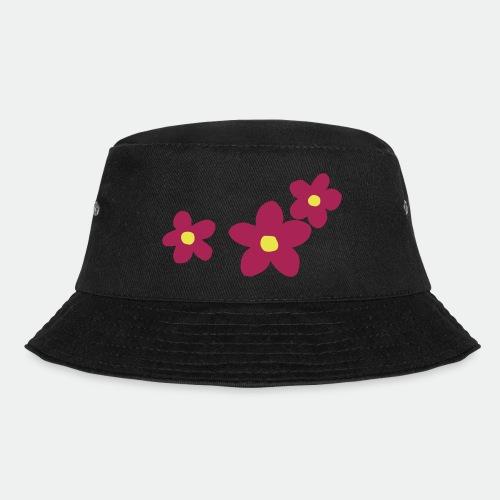 Three Flowers - Bucket Hat