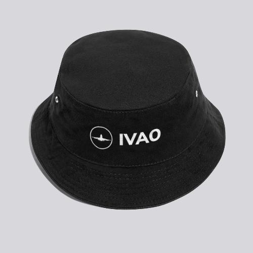 IVAO (White Full Logo) - Bucket Hat