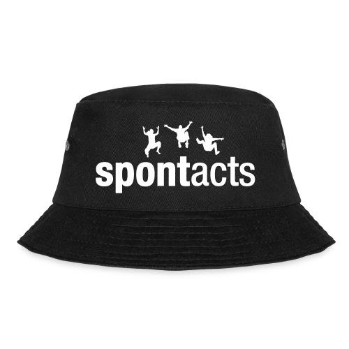 spontacts_Logo_weiss - Fischerhut