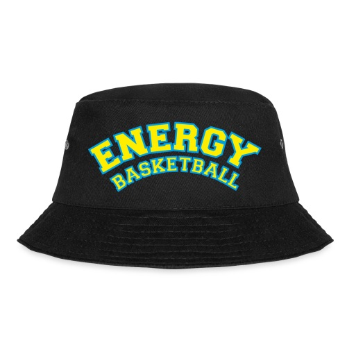 street wear logo giallo energy basketball - Cappello alla pescatora