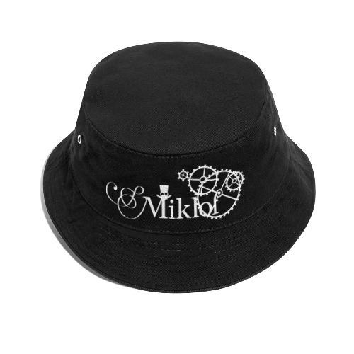 miklof logo white 3000px - Bucket Hat