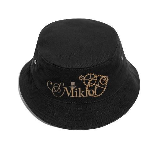 miklof logo gold outlined 3000px - Bucket Hat