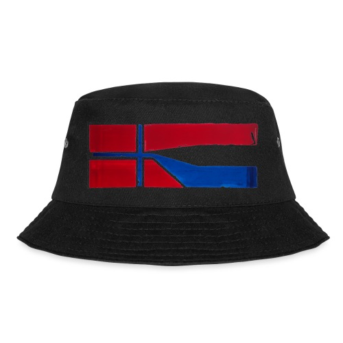 VHEH - CONNECTION (Norwegian Dutch Flag) - Bucket Hat