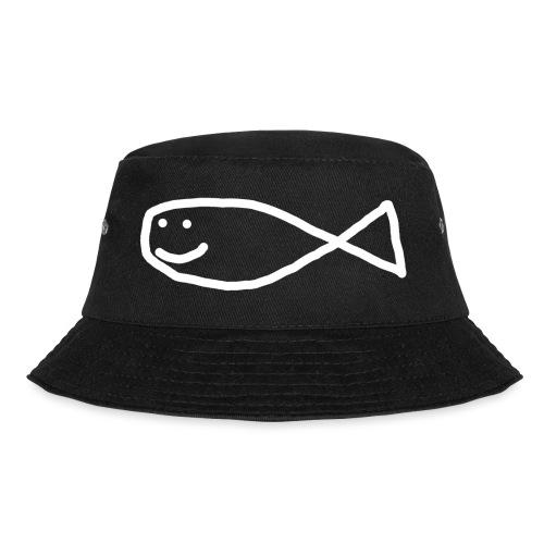 Klassisk Strandfisk T-Shirt - Bøttehatt