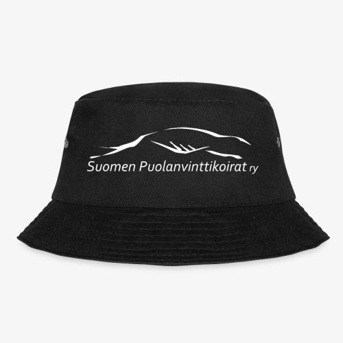 SUP logo valkea - Kalastajanhattu