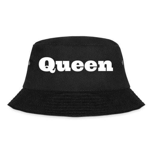 Snapback queen zwart/grijs - Vissershoed