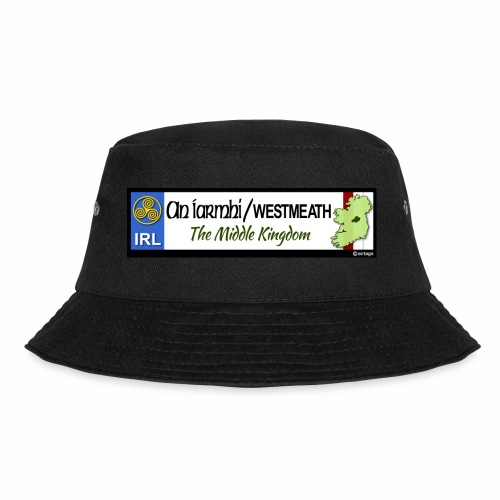 WESTMEATH, IRELAND: licence plate tag style decal - Bucket Hat