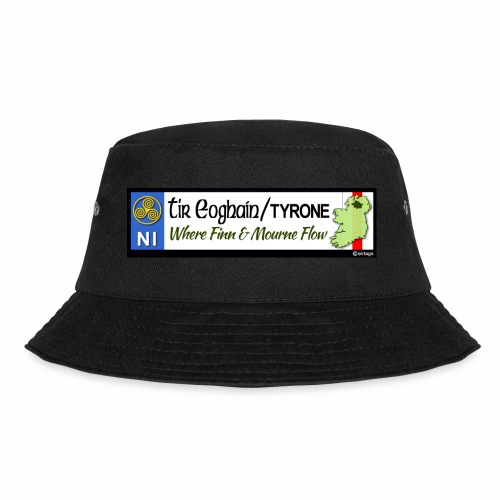 TYRONE, NORTHERN IRELAND licence plate tags decal - Bucket Hat