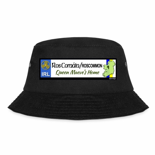 ROSCOMMON, IRELAND: licence plate tag style decal - Bucket Hat