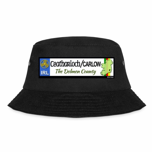 CARLOW, IRELAND: licence plate tag style decal - Bucket Hat